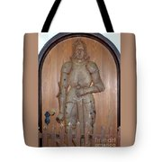 Prince At The Door Tote Bag