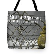 Prince Charming Quote Tote Bag