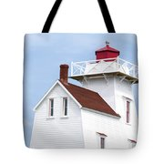 Prince Edward Island Lighthouse Poster Tote Bag