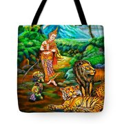 Prince In The Forest Of Life Tote Bag