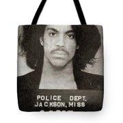 Prince Mug Shot Vertical Tote Bag