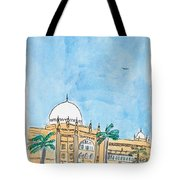 Prince Of Wales Museum Mumbai Tote Bag