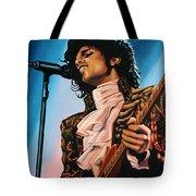 Prince Painting Tote Bag