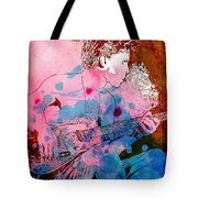 Prince Quote. There's A Dark Side To Everything Tote Bag