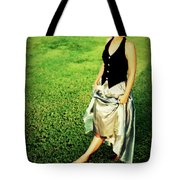 Princess Along The Grass Tote Bag
