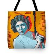 Princess Leia Tote Bag by Antonio Romero