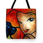 Princess Of The Seas Tote Bag