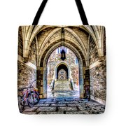 Princeton University Arches And Stairway To Education Tote Bag