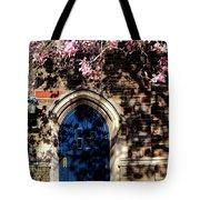 Princeton University Door And Magnolia Tote Bag