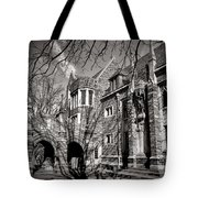 Princeton University Foulke And Henry Halls Archway Tote Bag