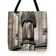 Princeton University J Witherspoon Statue  Tote Bag