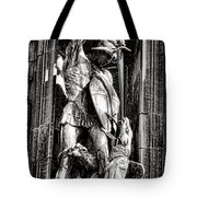 Princeton University Saint George And Dragon Sculpture Tote Bag