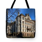 Princeton University Witherspoon Hall  Tote Bag