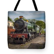 Print Of Gwr 6960 'raveningham Hall, Sits At Bishops Lydeard On  Tote Bag