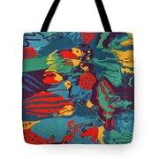 Printed Saltillo Tote Bag