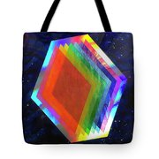 Prismatic Dimensions Tote Bag