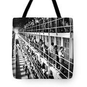 Prison: San Quentin, 1954 Tote Bag