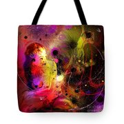 Prisoner Of The Past Tote Bag