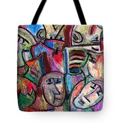 Prisoners By Rafi Talby Tote Bag