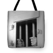 Prisoners Hands Gripping Bars, C.1980s Tote Bag