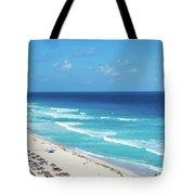 Pristine Beach In Cancun Tote Bag