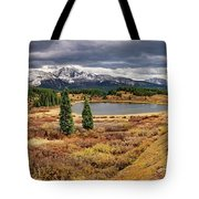 Pristine Mountain Lake Tote Bag