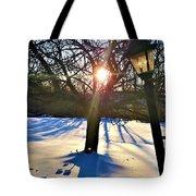 Pristine Snowfield Tote Bag