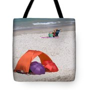 Privacy For Two At The Beach Tote Bag