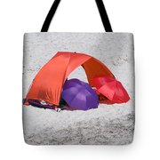 Private Beach For Two Tote Bag