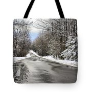 Private Country Road Tote Bag