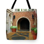 Private Entrance Tote Bag