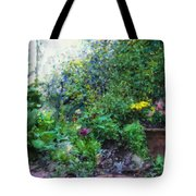 Private Garden Tote Bag