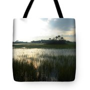 Private Palm Island Tote Bag