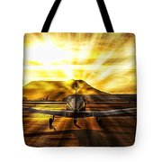 Private Pilot Heaven Tote Bag