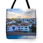 Private Pool 3 Tote Bag
