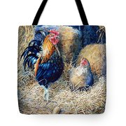 Prized Rooster Tote Bag