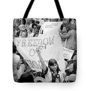 Pro-choice Rally, 1976 Tote Bag