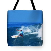 Pro Surfer Ezekiel Lau-1 Tote Bag