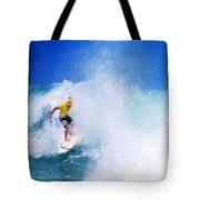 Pro Surfer-nathan Hedge-5 Tote Bag