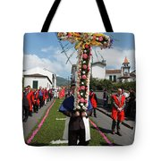 Procession In Furnas - Azores Tote Bag