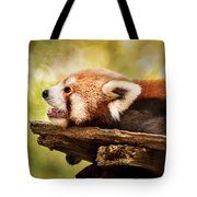 Profile Of A Red Panda Tote Bag