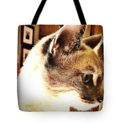 Profile Of The Cat Tote Bag