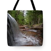 Profile Of The Falls Tote Bag