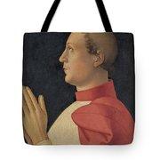 Profile Portrait Of Cardinal Philippe De Levis Tote Bag