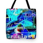 Profound Thought Celebrate Life Pink Tote Bag