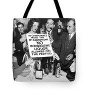 Prohibition Ends Let's Party Tote Bag