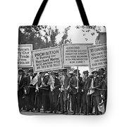 Prohibition Protestors Tote Bag