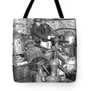 Prohibition Stills Inspected By Treasury Agents Tote Bag