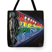 Projection Tote Bag