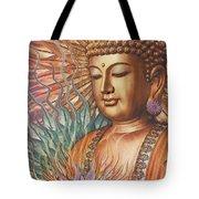 Proliferation Of Peace - Buddha Art By Christopher Beikmann Tote Bag by Christopher Beikmann